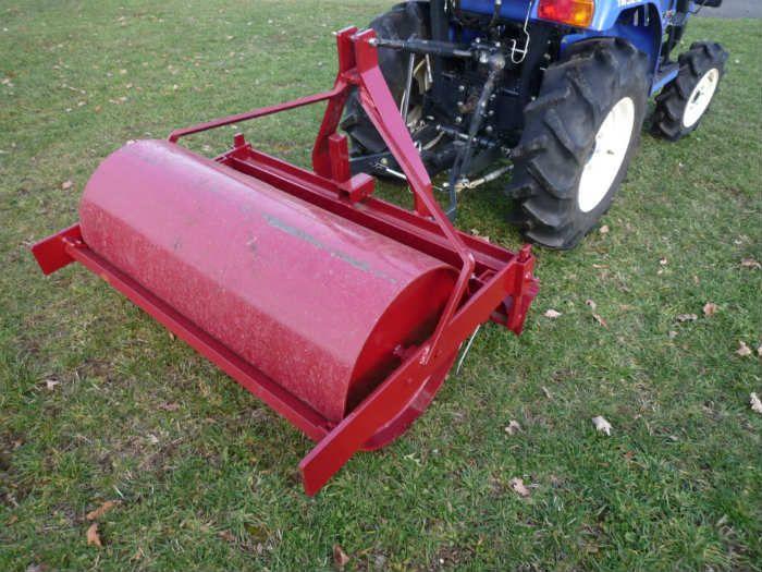 Rouleau pour tracteur horticole