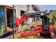 Bousval, Grue Glasslift sur chantier